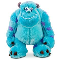 We got this stuffed animal for Clark at the Disney store this weekend. We love Monsters Inc.