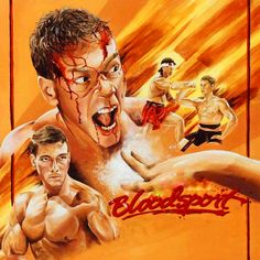 Bloodsport Movie, Claude Van Damme, Horror Font, Concert Posters, Movie Posters, Black Widow Marvel, About Time Movie, Classic Movies, Martial