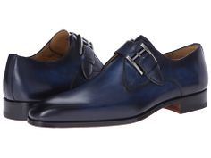 Magnanni Adan Navy - Zappos.com Free Shipping BOTH Ways Men's Shoes, Dress Shoes, Men Dress, Navy Blue Shoes, Dress With Boots, Formal Shoes, Nice Dresses, Oxford Shoes, Footwear