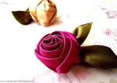 MeiJo's JOY: The 'Walnut' Rose Tutorial