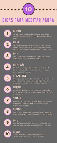 10 Dicas Para Meditar Agora - Meditação para Iniciantes