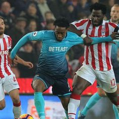 Ex-Swansea stars Wilfried Bony, Joe Allen haunt their former team