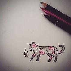 galaxy cat tattoo - Pesquisa Google