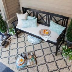 Front porch inspiration.