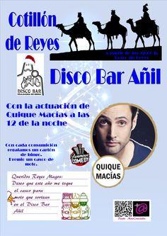 Cotillón de Reyes 2013. Disco Bar Añil