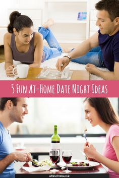 5 Fun At-Home Date Night Ideas. Click here to find out more: http://withlovefromlou.co.uk/2017/09/home-date-night-ideas/