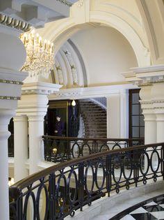 The Waldorf Astoria Shanghai, interior designed by HBA/Hirsch Bedner Associates