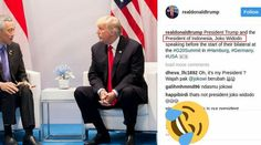 Netizen Indonesia Geger! Jokowi Berubah Wajah di Akun Instagram Presiden AS Donald Trump http://news.beritaislamterbaru.org/2017/07/netizen-indonesia-geger-jokowi-berubah.html