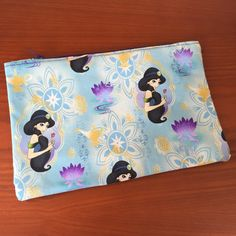 Princess Jasmine Makeup Bag Makeup Pouch by WithLoveFromSoCal