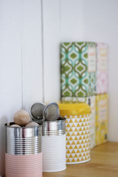 pretty storage: cool kitchen storage
