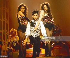Fotografía de noticias: Prince realiza durante su sesión de vídeo 'Crema' ...