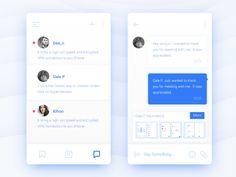 Messages  by wenjun #Design Popular #Dribbble #shots