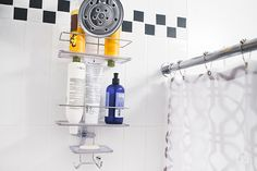 The Best Shower Caddy   The OXO Good Grips Stainless Steel 3-Tier Shower Caddy 2.0 is sturdy, rust-resistant, attractive, well-featured, fairly priced, and just the right size for two adults.