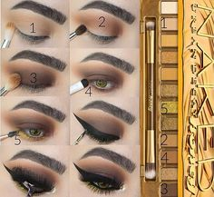 Awesome Gorgeous makeup detail are available on our web pages. look at this and you wont be sorry you did. Skin Makeup, Eyeshadow Makeup, Beauty Makeup, Beauty Dupes, Drugstore Makeup, Maquillage Urban Decay, Fall Smokey Eye, Eye Makeup Glitter, Prom Makeup