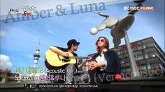 130625 f(Amber, Luna) - NU ABO (Acoustic Version) On Amazing f(x)