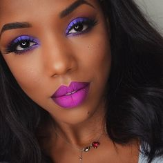 Fuchsia Fierceness // Real Girls Wearing Rainbow Lipstick