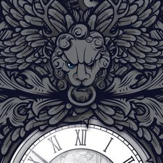 Time Travel in a Time of Regret by Jared Nickerson, via Behance