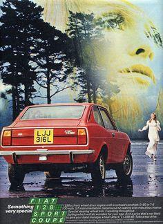 chromjuwelenoel: Fiat 128 sport coupé (via Fiat 128 sport coupé Fiat 128, Retro Cars, Vintage Cars, Fiat 500 Pop, Fiat Cars, Australian Cars, Fiat Abarth, Car Advertising, Parking