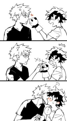 Kiss The Puppet~ <3 KatsuDeku <3