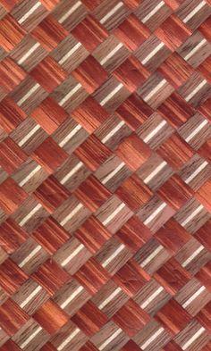 Yosegi-zaiku - japanese wood parket pattern