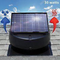 U S Sunlight 30 Watt Solar Attic Fan By Air Vent Inc Solar