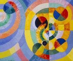Robert Delaunay - Circular Forms   Delaunay was a French artist who used Orphism, (which is similar to abstract art) abstraction and cubism in his work. Delaunay concentrated on Orphism, while his later works were more abstract, reminiscent of Paul Klee. His key influence related to bold use of color, and a clear love of experimentation of both depth and tone.