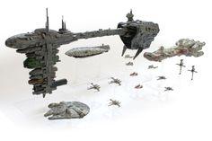 Star Wars X-Wing Miniatures Game - Nebulon-B Frigate Pack | eBay