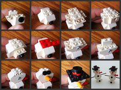 Instructions for LEGO Store Monthly Mini Model Build - January 2010 (Snowman) Best time of the year! Lego Advent, Used Legos, Crafts For Kids, Arts And Crafts, Lego Christmas, Lego Store, Lego Models, Lego Instructions, Lego Duplo