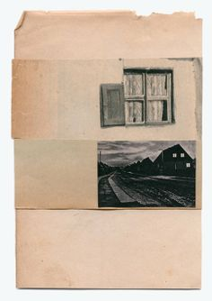 ...to combine disparate elements (old paper, photography, drawing) in ths way. Katrien De Blauwer - Paysage (2)
