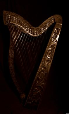 Celtic Harp picture, by TwilightMuse for: instruments photography contest