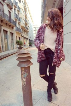 Maroon and pink