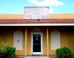 Anchor Inn~ one of the only hardcore full bars on the island!