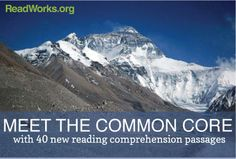 New Reading Comprehension Passages on  ReadWorks.org - great free website!
