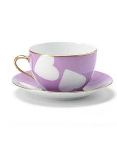 Nina Campbell Parme Teacup & Saucer