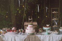 THE WEAVER HOUSE BLOG // wedding // dessert buffet // wedding cake // rustic wedding // woodland wedding // celebrate