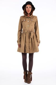Trench Coat - alter grey #trench like this #refashion