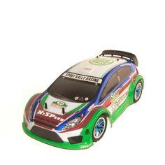 1:10 Scale RCC94177BLUE Nitro Powered Rally Car