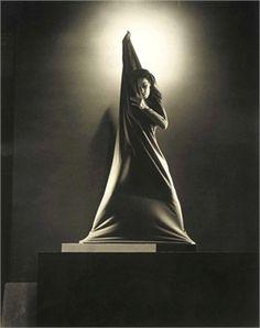 Martha Graham Photographed by Edward Steichen in 1931.