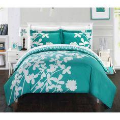 Casa Blanca 3-Piece Bedding Duvet Cover Set
