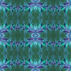 turquoise and purple fabric by krs_expressions on Spoonflower - custom fabric and wallpaper