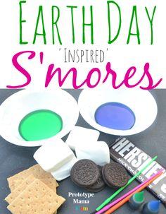 Earth day smores