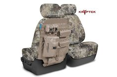 Coverking Kryptek Tactical Camo Ballistic Canvas Seat Covers - Kryptek Molle Camouflage Seat Cover