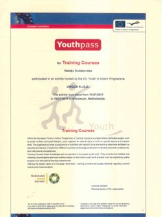 Certificate of Completion of EU Training for trainers - part 1 Youth Worker, Certificate Of Completion, Training Courses, Trainers, Activities, Self, Tennis Sneakers, Sweatshirts, Athletic Shoes