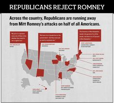 Romney's ideas are so radical, his own party is disavowing him!
