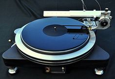 """TransFi """"Salvation"""" turntable with Tomahawk T3PRO linear tracking tonearm (2012)"""