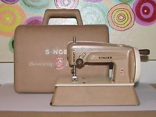 Vintage Singer Sewhandy Toy Sewing Machine Model 40 Crank 1950s Childs Retro