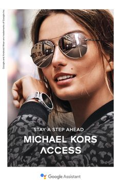 Stay a step ahead with the Michael Kors Access Sofie smartwatch featuring the Google Assistant. Personalize the touchscreen to match your mood, receive updates from your social circle, track fitness goals and so much more. Discover the latest in wearable tech from Michael Kors.