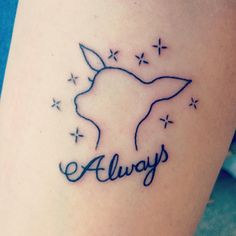 I may have been and done this today! Eek! Love it! My Harry Potter Tattoo! #harrypotter #harrypottertattoo #snape #patronus #always #harrypotterfans #harrypotterfandom #potterheads