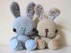 Amgurumi Spring Bunny