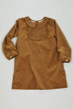 cute little girl dress in butterscotch!!!    <3